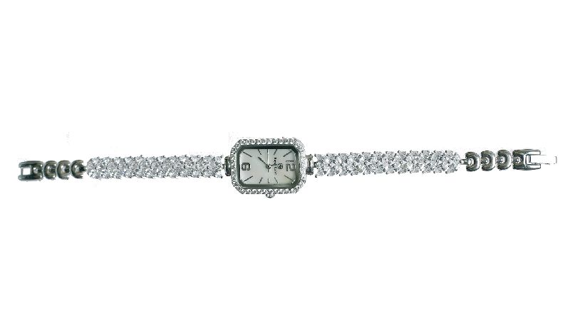 Ladies Silver Watch 01