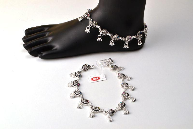 Silver Casting Anklet 03