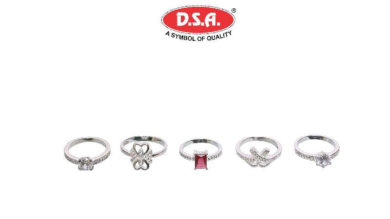 Silver Ladies Ring 04