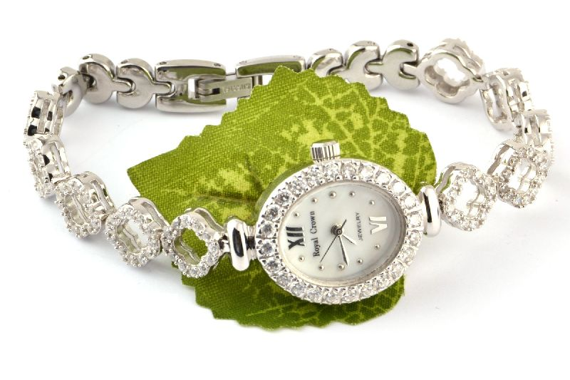 Sterling Silver Ladies Watch 01