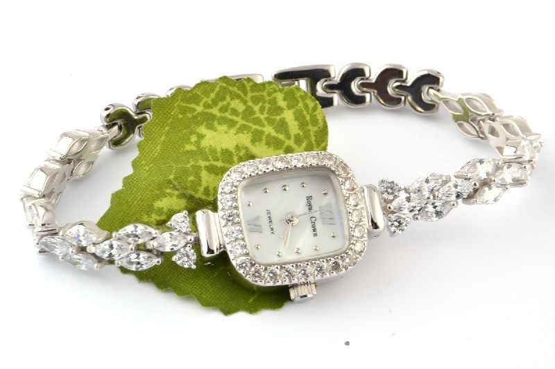 Sterling Silver Ladies Watch 02