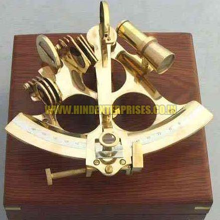 6 Inches Slow Motion Nautical Sextant He-10004