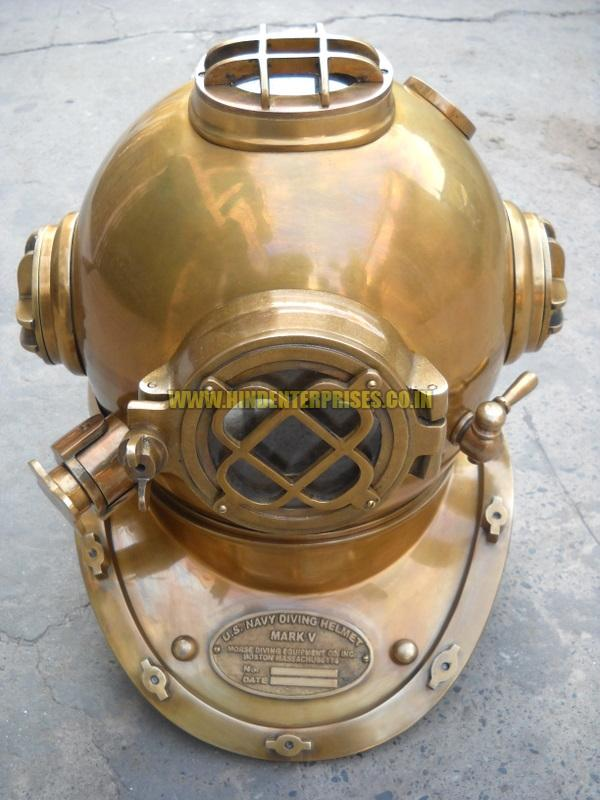 Brass Diving Helmet He-10002