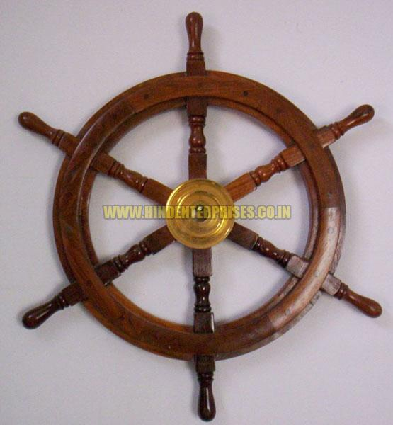 Nautical Steering Wheel