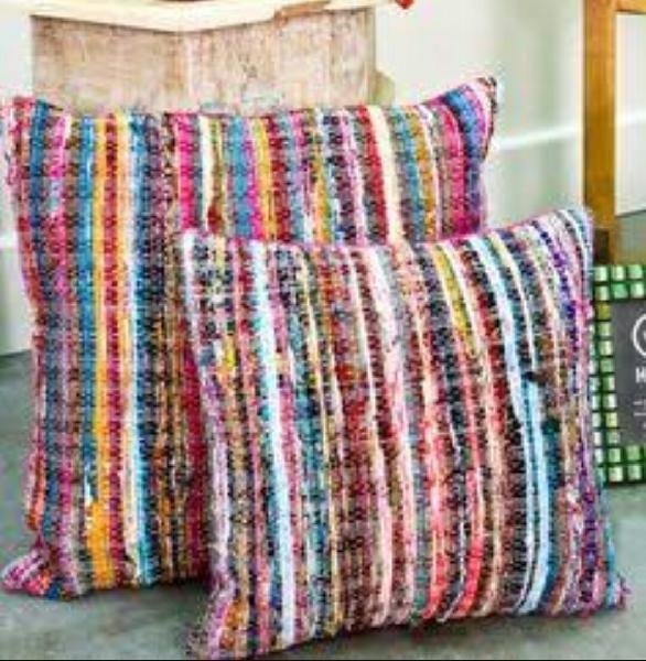 Chindi Cushion Cover 02