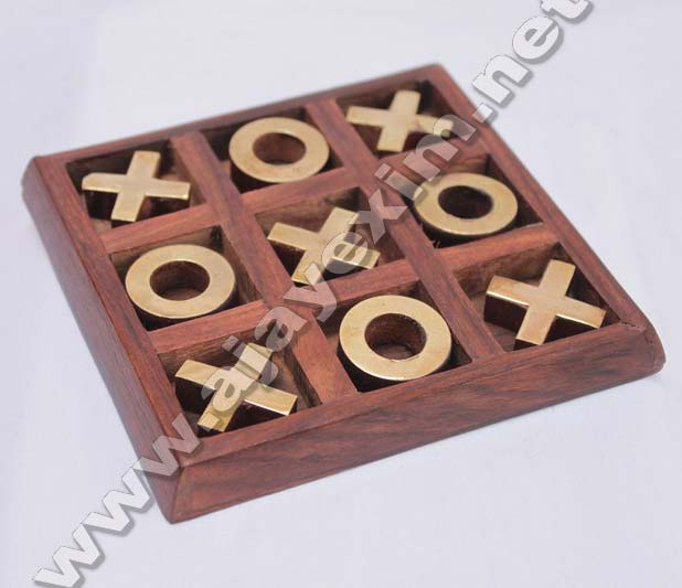 Wooden Tic Tac Toy
