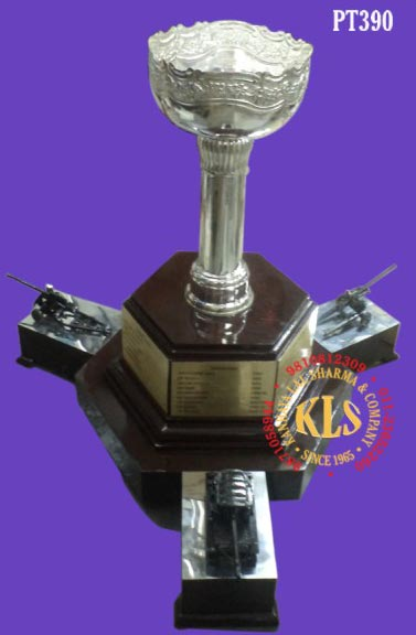 White Metal Trophy