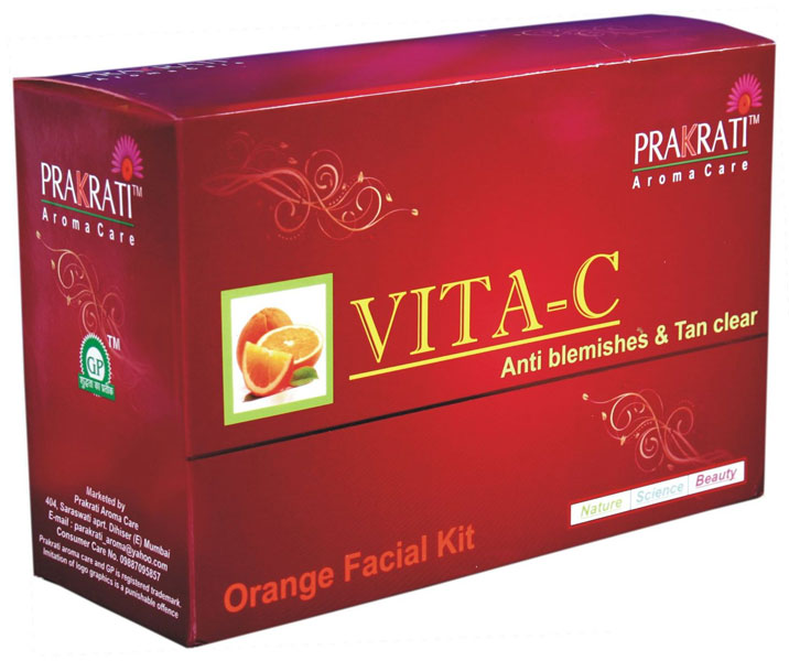 Orange Facial Kit