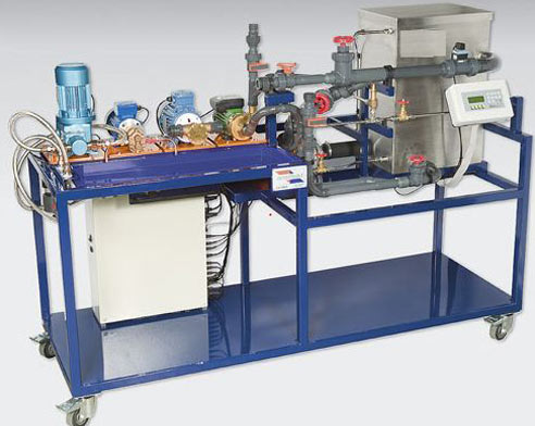 Automated Pump Test Rig
