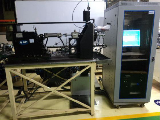Master Caliper Assembly Test Rig