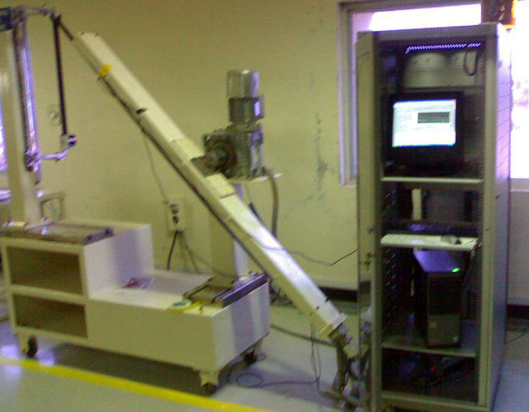 Retraction And Extraction Test Rig