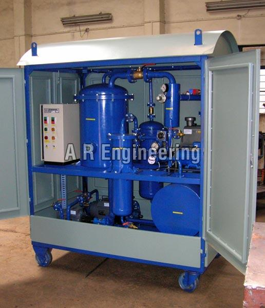 Single Stage Transformer Oil Filtration Plant