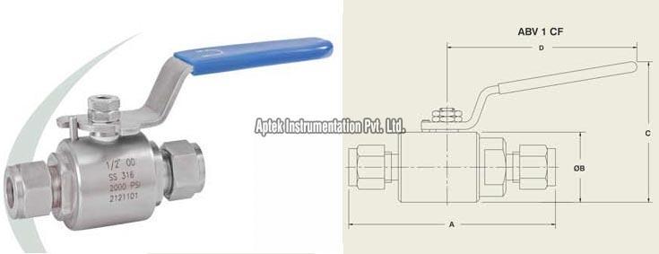 Model No : ABV 1 CF