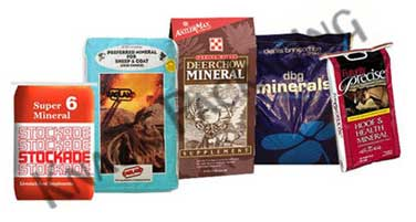 Minerals Packaging Bags