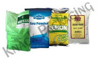 Powder & Granuals Packaging Bags
