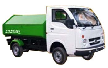 Close Tipper Truck