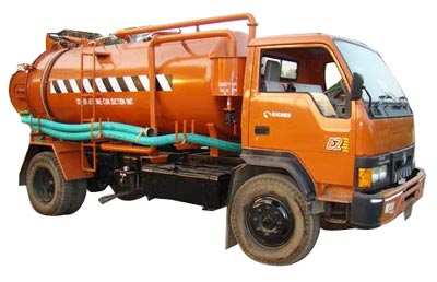 Sewer Jetting Cum Suction Machine