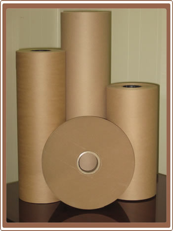 High BF Recycled Kraft Paper Rolls