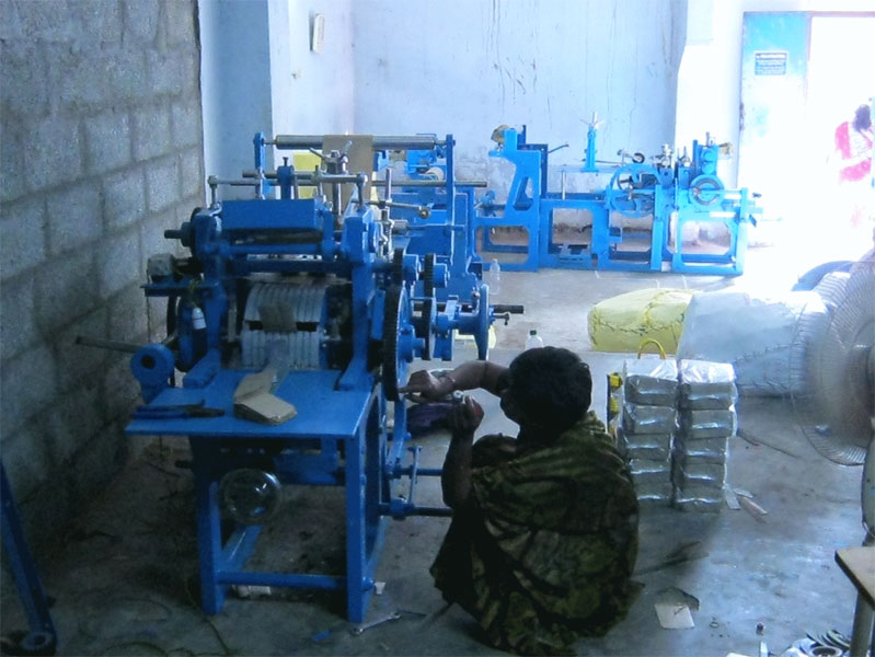 Paper Cover Making Machine 02