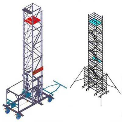 Aluminium Mobile Tower