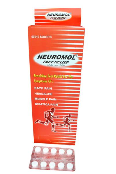 Neuromol Fast Relief Tablets