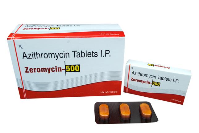 Zeromycin-500 Tablets