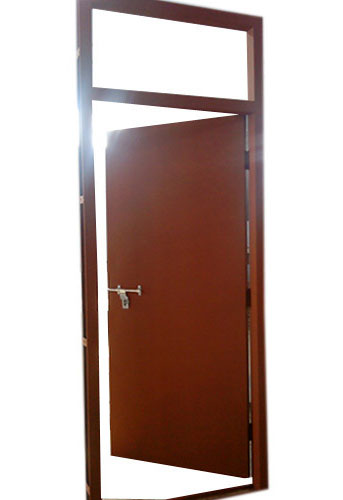 Single Skin Steel Doors