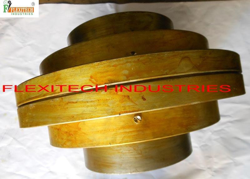 two-piece rigid coupling