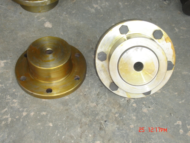 Half Gear Half Rigid Coupling 02