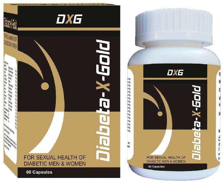 Diabeta X Gold Anti Diabetic Capsules
