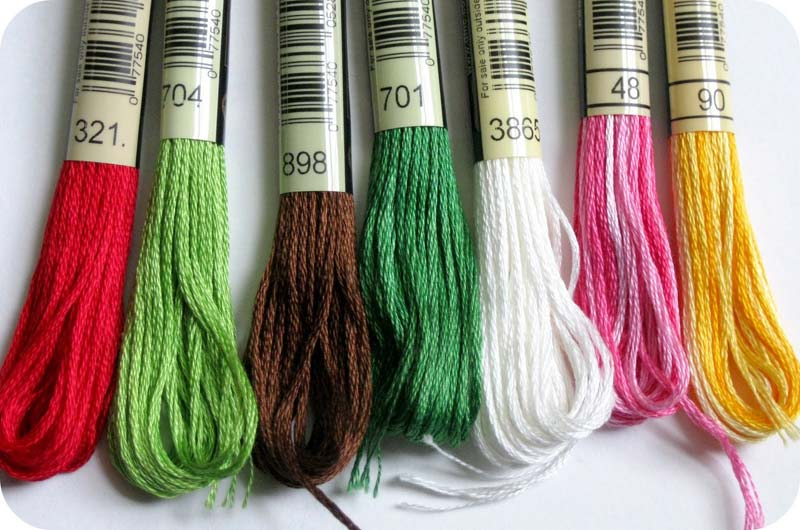 Cotton Embroidery Skein