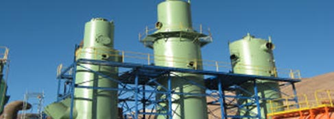 Acid Plant Absorption Tower Coating