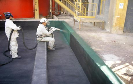 Sulphuric Acid Tank Coating