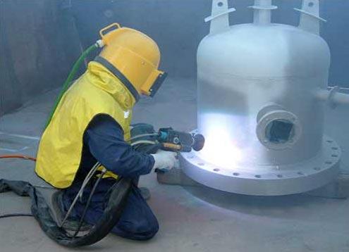 Thermal Spray Aluminium Coating