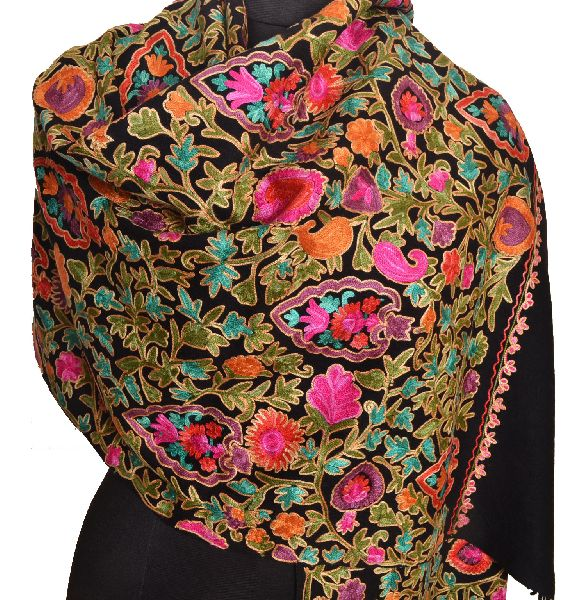 Embroidered Shawl 01