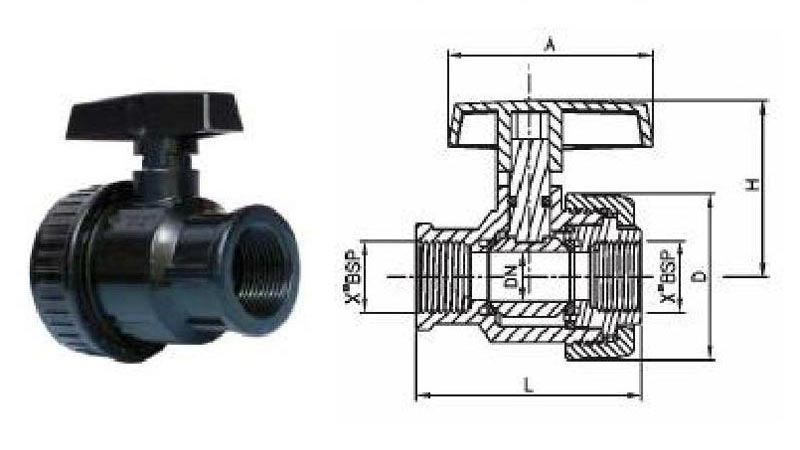 Female Female Ball Valve