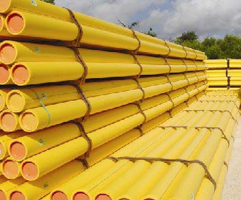 PE Gas Pipes