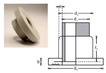 PP Socket Fusion Pipe Stubend Flange Adapter