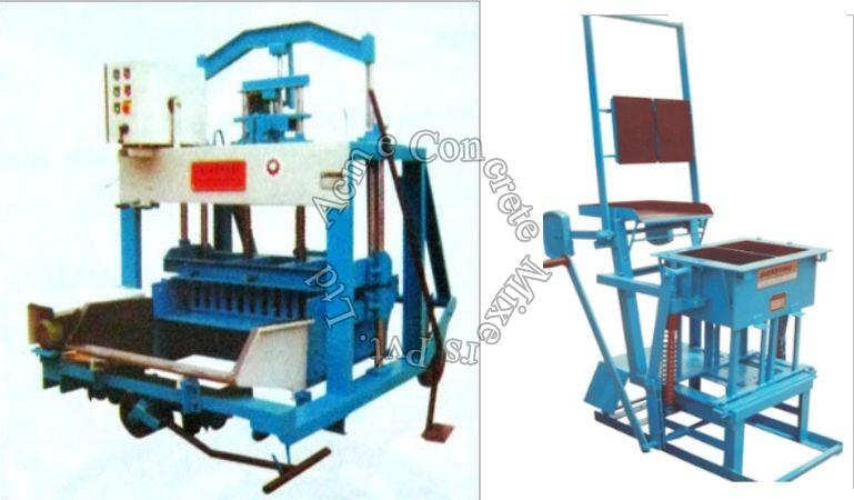Hydraulic Block Laying Machine