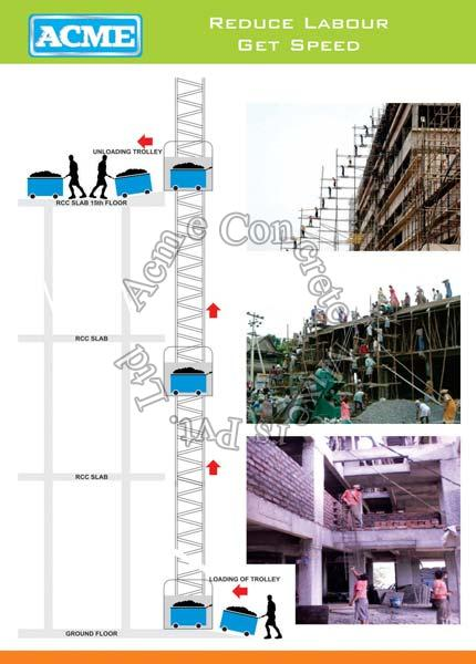 Construction Material Lift