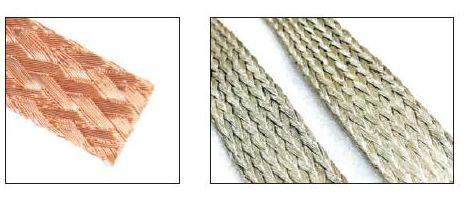 Flexible Flat Copper Conductor Braids