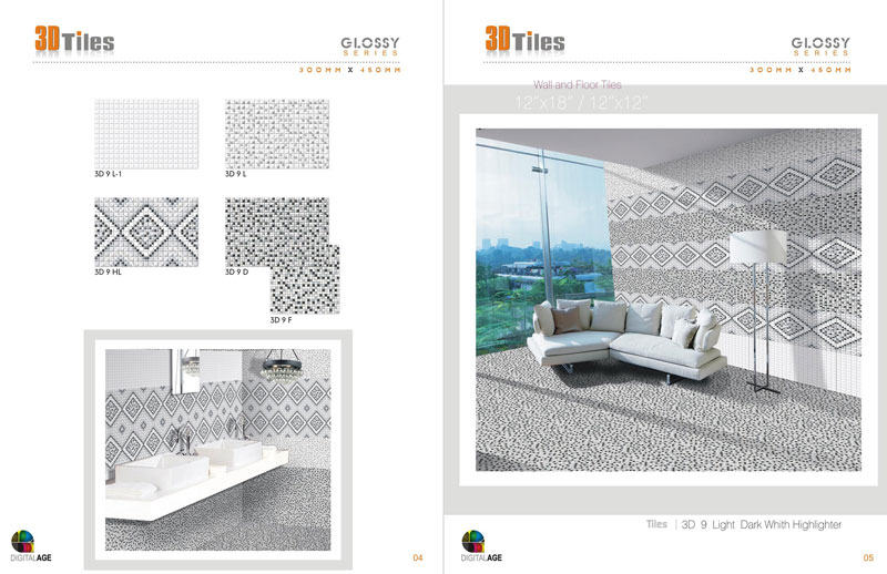 Ceramic Wall and Floor Tiles
