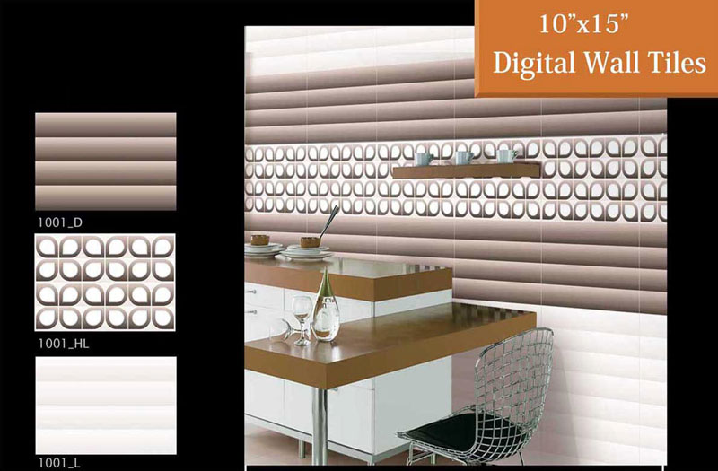 Digital Wall Tiles (250x400mm)