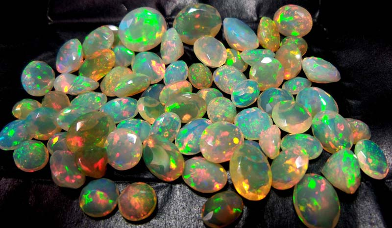 Faceted Ethiopian Opal