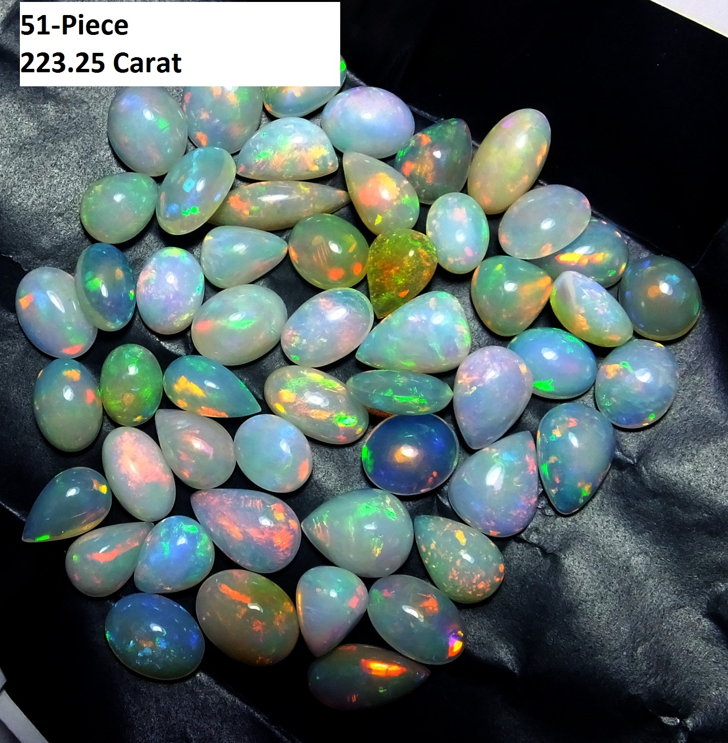 Free Size Ethiopian Opal Cabochon