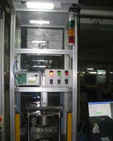 Sealed Motors Leak Test Machine