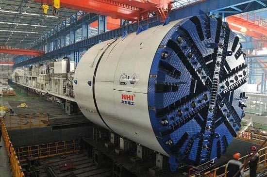 Dual Mode Tunnel Boring Machine