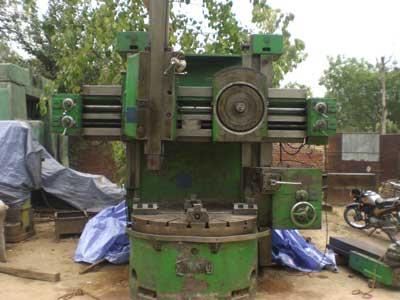 CNC Vertical Lathe Machine