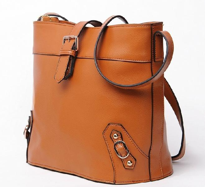 Leather Ladies Shoulder Bag