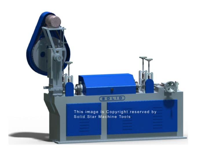 Wire Straightening and Cutting Machine (Solid-M13)